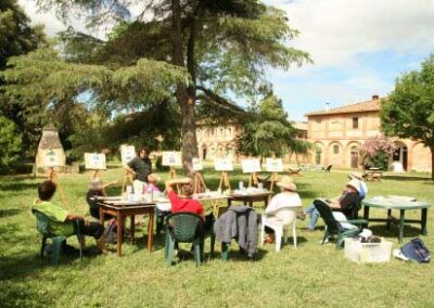 painting workshops Italy