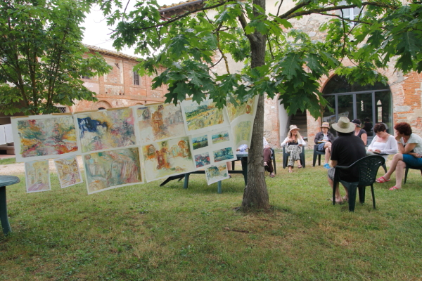 Travelling with meaning : a painting workshop in Italy