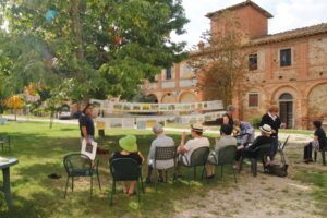Art classes in Tuscany with Walk the Arts