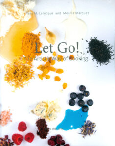 Cover of creative cooking book by Walk the Arts offering art workshops and gourmet meals in Italy
